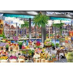 Puzzle Amszterdami virágpiac