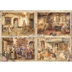 Puzzle Pékség a 19. században
