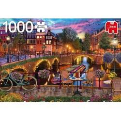 Puzzle Amszterdami csatorna
