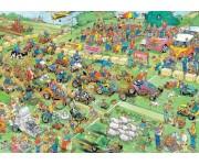 Puzzle Fűnyíró verseny