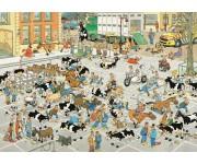 Puzzle Szarvasmarha piac