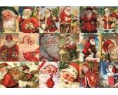 Puzzle Santa Claus - kollázs