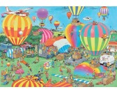 Puzzle Ballon show