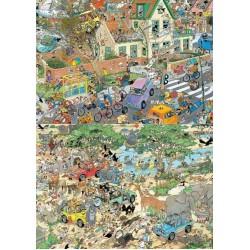 Puzzle Szafari és Zivatar