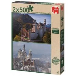 Puzzle Neuschwanstein - ősz/tél