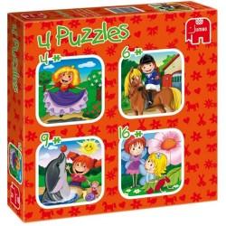 Puzzle Leány kaland - GYEREK PUZZLE