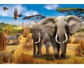 Puzzle Az afrikai szavanna