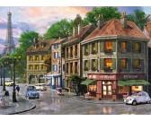 Puzzle Párizsi utcák