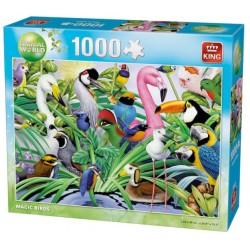 Puzzle Gyönyörű madarak