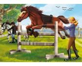 Puzzle Ugráló ló - GYEREK PUZZLE