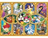Puzzle Disney figurák