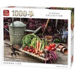 Puzzle Éllő kert