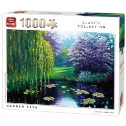 Puzzle Út a kertben