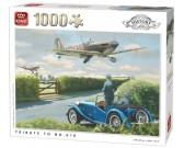 Puzzle Hadi repülőgépek a levegőben