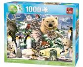 Puzzle Északi állatok