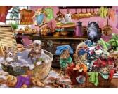 Puzzle Macskák a konyhában