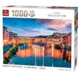 Puzzle Ponte Vecchio, Florencia