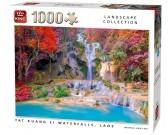 Puzzle Tat Kuang Si vízesések, Laosz