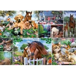 Puzzle Állati világ