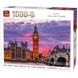 Puzzle Big Ben a parlamenttel