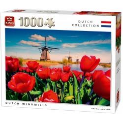 Puzzle Vizimalmok Hollandiában