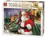 Puzzle Santa vonatja