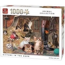 Puzzle Cicák az istálóban