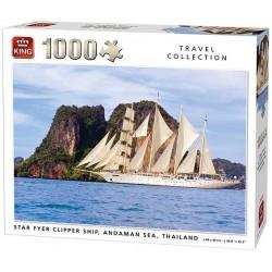 Puzzle Vitorlás, Thaiföld