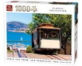 Puzzle Vonat, San Francisco