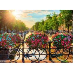 Puzzle Nap Amszterdam felett