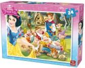 Puzzle Hófehérke - herceg látogatásban - GYEREK PUZZLE