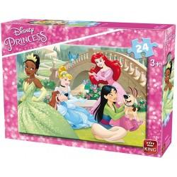 Puzzle Hercegnők - délutáni pihenés - GYEREK PUZZLE