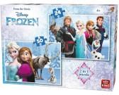 Puzzle Jég királyság - GYEREK PUZZLE
