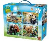 Puzzle Dzsungel kölykök - GYEREK PUZZLE