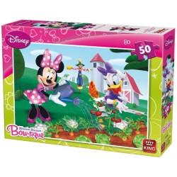 Puzzle Minnie kertben - GYEREK PUZZLE