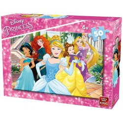 Puzzle Gyönyörű hercegnők - GYEREK PUZZLE