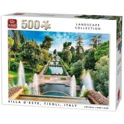 Puzzle Nyári Tivoli villa, Olaszország