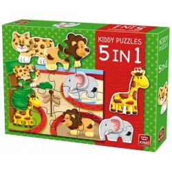 Puzzle Állatkert - GYEREK PUZZLE