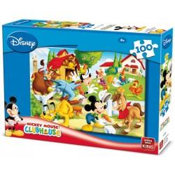 Puzzle Miki egér a farmon - GYEREK PUZZLE