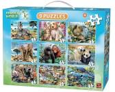 Puzzle Állatkák - GYEREK PUZZLE