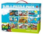Puzzle Közlekedési eszközök - GYEREK PUZZLE