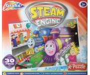 Puzzle Vonatok - GYEREK PUZZLE