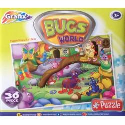 Puzzle Bogarak világa - GYEREK PUZZLE