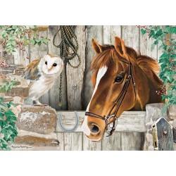 Puzzle A ló és a bagoly
