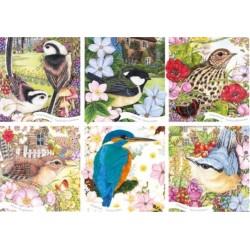 Puzzle Természetünk madarai