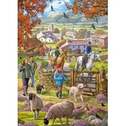 Puzzle Őszi séta