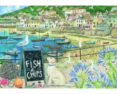Puzzle Fish and chips