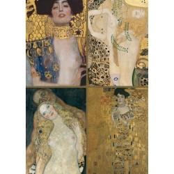 Puzzle Klimt - kollázs