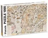 Puzzle Tengeri térkép 1572-ből