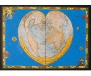 Puzzle Világ szíve - FÉM PUZZLE